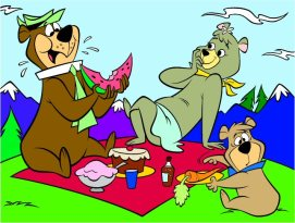 yogi-picnic-cartoon